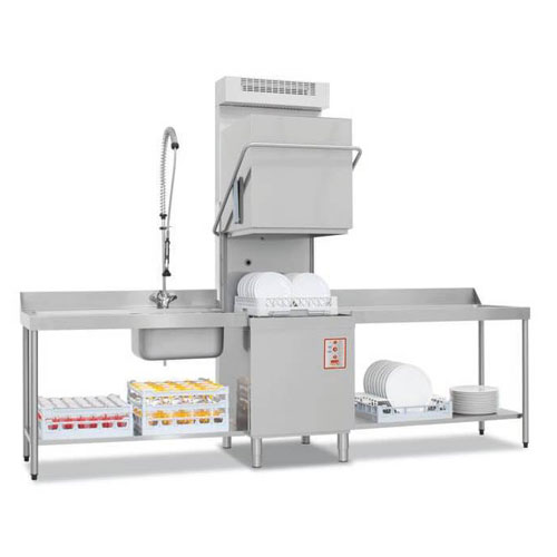 The IM20 Upright Commercial Dishwasher with Condenser